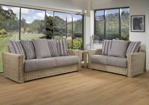 Burford 3 Seater sofa & 2 Seater sofa with Scatter Back Cushions