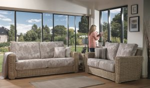 Burford Traditional Back 3 Seater & 2 Seater Sofa