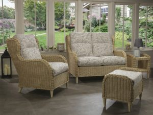 Hartford 2 Seater Sofa & Chair in Rose