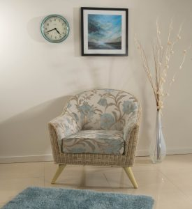 Henley Chair in Orchid Blue