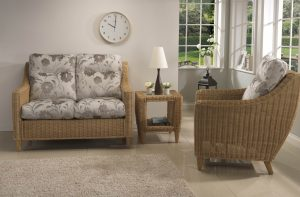 Hudson 2 Seater Sofa & Chair in Orchid Beige
