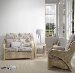 Opera Natural 2 Seater Sofa & Chair in Jasmine