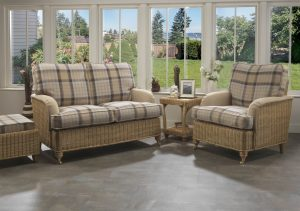 Seville 2 Seater Sofa in Highland & Sand