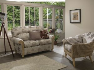Stamford 2 Seater Sofa & Henley Chair in Orchid Beige