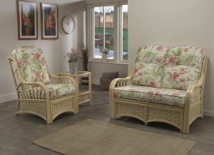 Vale 2 Seater Sofa & Chair in Blossom