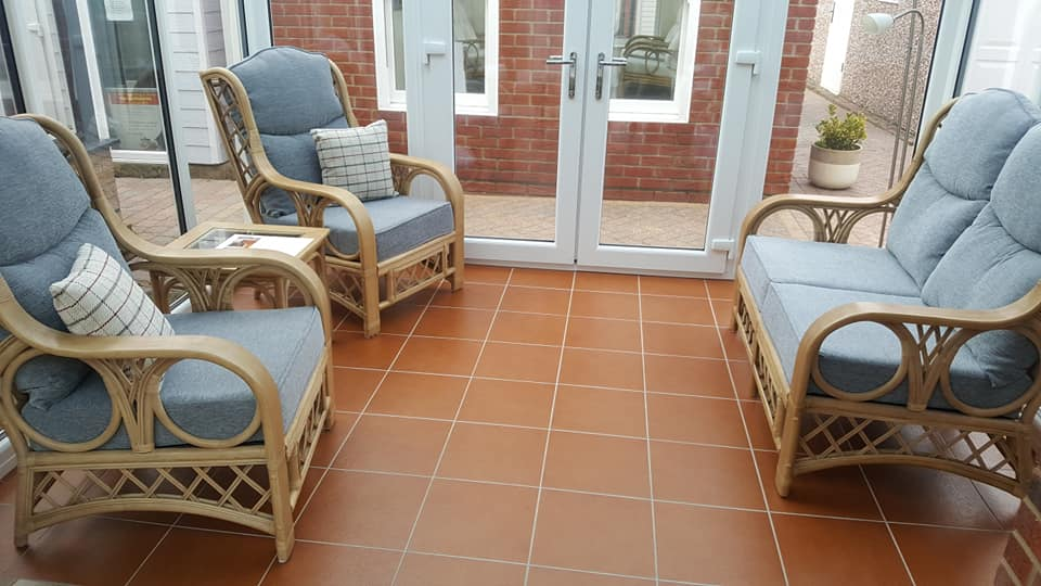 Tivoli suite and scatter cushions