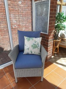 LAURA ASHLEY WILTON CHAIR