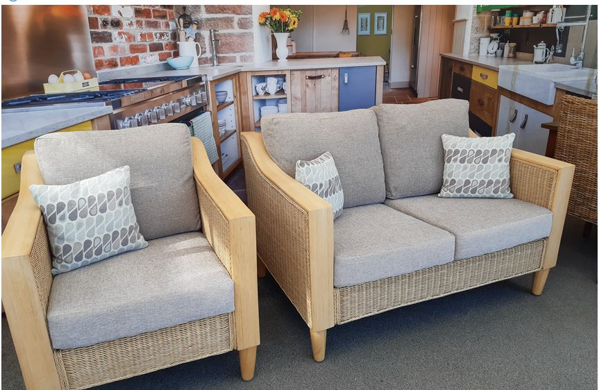 Elgin sofa and chair suite