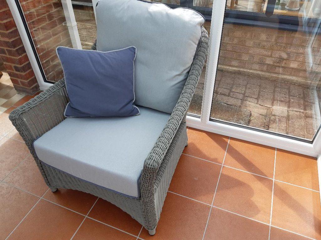Laura Ashley Bourton sofa and chair